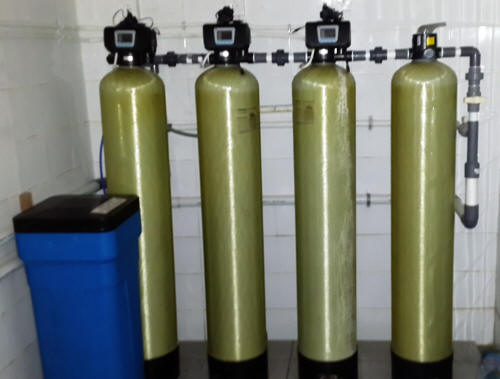 Water Filter Set. Wetting Pre Filter and Softener